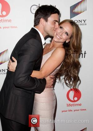 Colin Egglesfield and Jennifer Love Hewitt Launch party for Lifetime's new series 'The Client List' at Sunset Tower West Hollywood,...