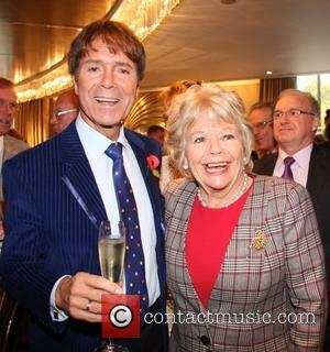 Sir Cliff Richards, Judith Chalmers and Dorchester Hotel