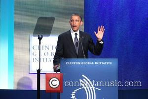 President Barack Obama Global Initiative Annual Meeting held at the Sheraton Hotel New York City, USA - 25.09.12
