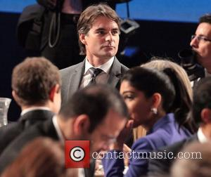 Jeff Gordon at the Global Initiative Annual Meeting held at the Sheraton Hotel. New York City, USA - 25.09.12