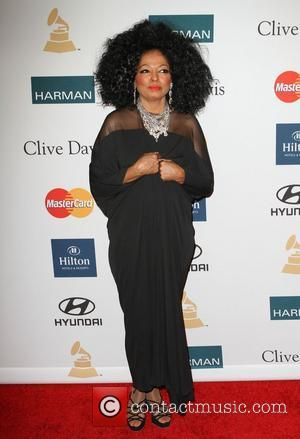 Diana Ross and Beverly Hilton Hotel