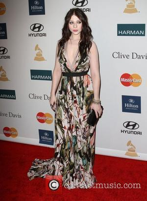 Michelle Trachtenberg and Beverly Hilton Hotel