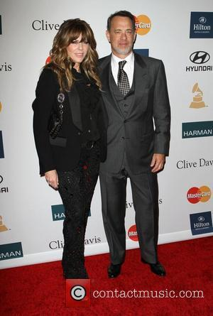 Rita Wilson, Tom Hanks and Beverly Hilton Hotel