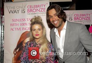Tayla Blue and Nick Hemming at Celebrity Bronze Tan during The Clothes Show Live 2012 - Day 4  Featuring:...