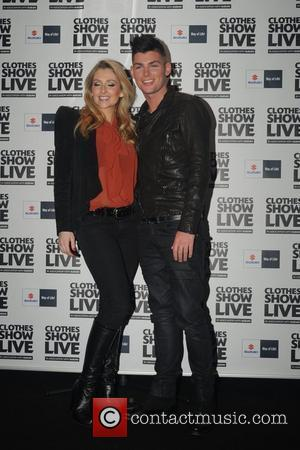 Kieron Richardson and Gemma Merna