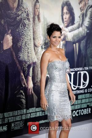 Halle Berry and Grauman's Chinese Theatre