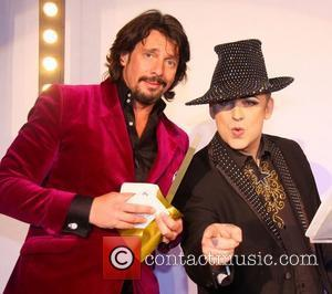 Laurence Llewelyn-bowen and Boy George