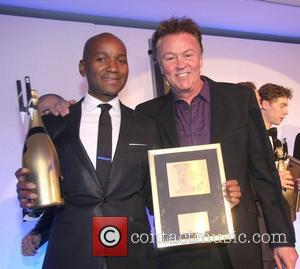 Roger Michael and Paul Young The London Bar & Club Awards 2012 held at Intercontinental Park Lane London, England -...