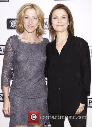 Edie Falco and Kathryn Erbe