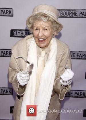 Elaine Stritch  Broadway opening night of 'Clybourne Park' at the Walter Kerr Theatre – Arrivals.  New York City,...