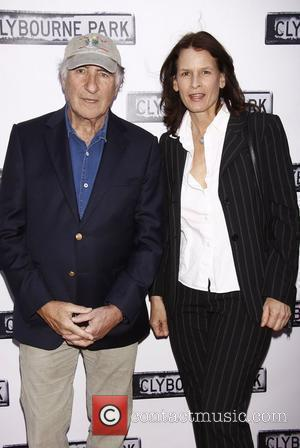 Judd Hirsch and guest  Broadway opening night of 'Clybourne Park' at the Walter Kerr Theatre – Arrivals.  New...