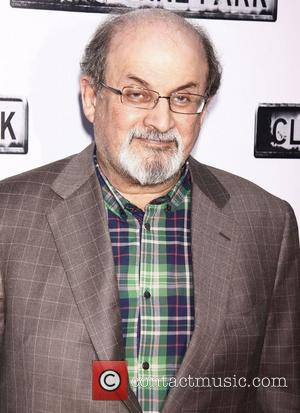 Salman Rushdie  Broadway opening night of 'Clybourne Park' at the Walter Kerr Theatre – Arrivals.  New York City,...