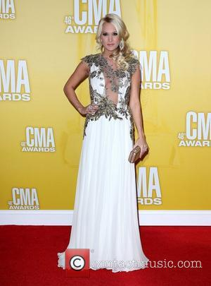Carrie Underwood 46th Annual CMA Awards