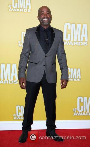 Darius Rucker 46th Annual CMA Awards Inside Bridgestone Arena In Nashville Tennessee, USA - 01.11.12