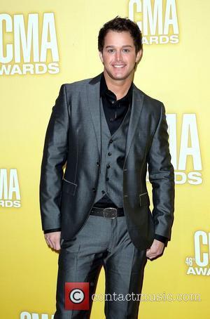 Easton Corbin 46th Annual CMA Awards Inside Bridgestone Arena In Nashville Tennessee, USA - 01.11.12