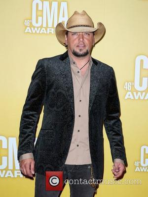 Jason Aldean 46th Annual CMA Awards Inside Bridgestone Arena In Nashville Tennessee, USA - 01.11.12