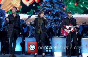 Lady Antebellum performing at the 2012CMA Country Christmas at Bridgestone Arena in Nashville Tennessee, USA - 03.11.12