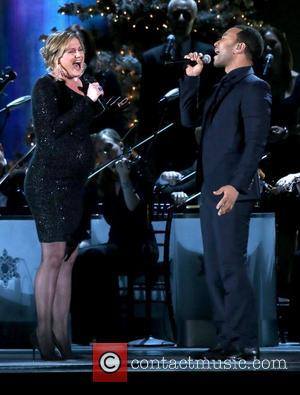 Jennifer Nettles and John Legend