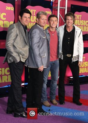 Rascal Flatts, Scotty McCreery 2012 CMT Music Awards at The Bridgestone Arena. Nashville, Tennessee - 06.06.12