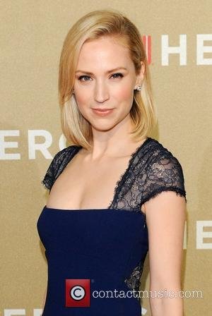 Beth Riesgraf CNN Heroes: An All-Star Tribute, held at The Shrine Auditorium - Arrivals Los Angeles, California - 02.12.12
