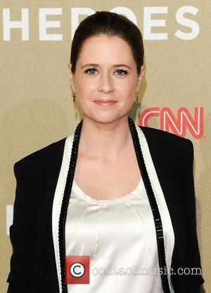 Jenna Fischer CNN Heroes: An All-Star Tribute, held at The Shrine Auditorium - Arrivals Los Angeles, California - 02.12.12