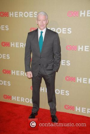 Anderson Cooper CNN Heroes: An All-Star Tribute, held at The Shrine Auditorium - Arrivals  Los Angeles, California - 02.12.12