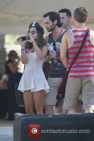 Penn Badgley and Zoe Kravitz  Celebrities at the 2012 Coachella Valley Music and Arts Festival - Week 2 Day...
