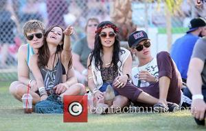 Vanessa Hudgens, Austin Butler and Coachella