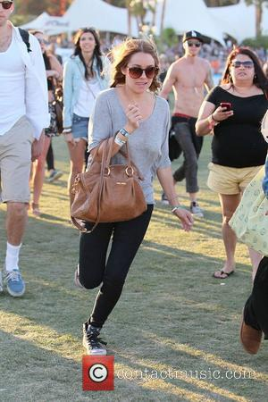 Lauren Conrad Celebrities at the 2012 Coachella Valley Music and Arts Festival - Week 1 Day 3 Indio, California -...