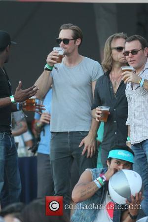 Alexander Skarsgard and Coachella