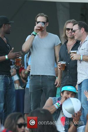 Alexander Skarsgard Celebrities at the 2012 Coachella Valley Music and Arts Festival - Week 2 Day 1 Indio, California -...