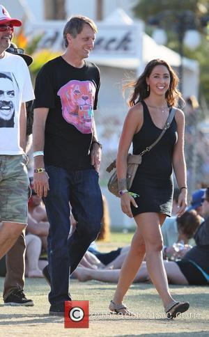 Tony Hawk Celebrities at the 2012 Coachella Valley Music and Arts Festival - Week 2 Day 3 Indio, California -...