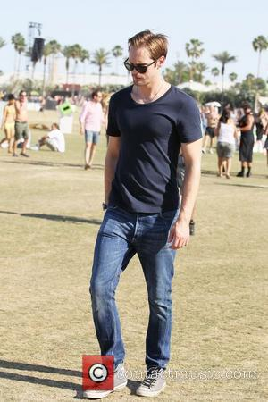 Alexander Skarsgard  Celebrities at the 2012 Coachella Valley Music and Arts Festival - Week 2 Day 3 Indio, California...