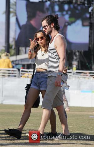 Zoe Kravitz, Penn Badgley and Coachella