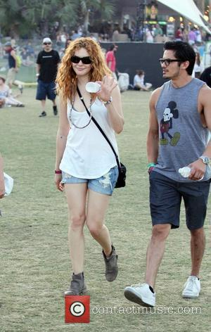 Rachelle Lefevre and Coachella