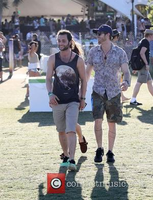 Penn Badgley  Celebrities at the 2012 Coachella Valley Music and Arts Festival - Week 2 Day 3 Indio, California...