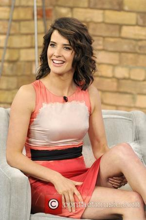 Cobie Smulders  appears on The Marilyn Denis show promoting the movie 'The Avengers'.  Toronto, Canada - 01.05.12