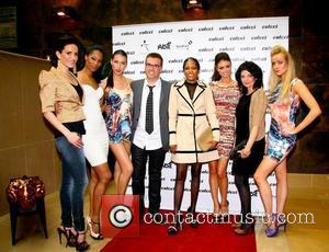 Sophie Anderton, Everton Horn, Cvine Lawson, Chloe Sims and Judith Jadron with models   The UK preview of Colcci...