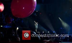 Chris Martin and O2 Arena