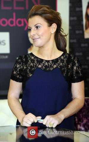 Coleen Rooney launches her bedding range at BHS (British Home Stores) at the Trafford Centre in Manchester  Featuring: Coleen...