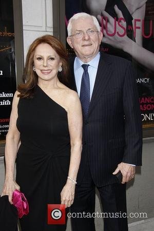 Marlo Thomas and Phil Donahue  Opening night of the MTC production of 'The Columnist' at the Friedman Theatre -...