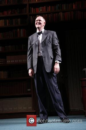 John Lithgow Opening night of the MTC production of 'The Columnist' at the Friedman Theatre - Curtain Call. New York...