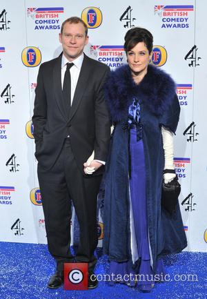 Robert Webb and guest The British Comedy Awards 2012 held at the Fountain Studios - Arrivals.