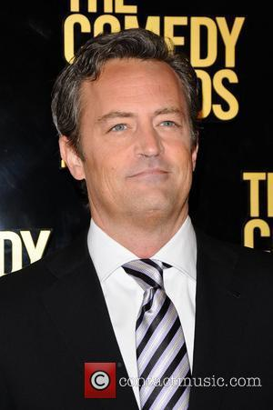 Matthew Perry  The Comedy Awards 2012 at Hammerstein Ballroom - Arrivals New York City, USA - 28.04.12