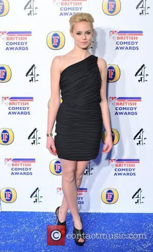 Hannah Tointon British Comedy Awards held at the Fountain Studios - Arrivals. London, England - 16.12.11