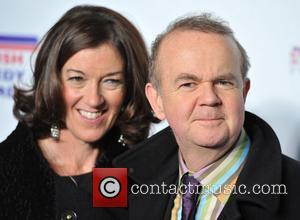Ian Hislop and guest British Comedy Awards held at the Fountain Studios - Arrivals. London, England - 16.12.11