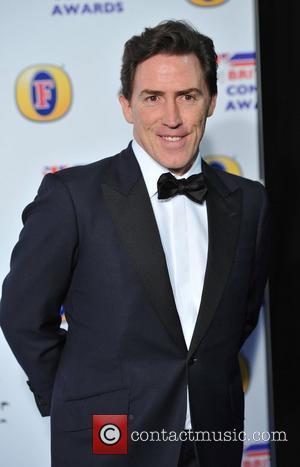 Rob Brydon British Comedy Awards held at the Fountain Studios - Arrivals. London, England - 16.12.11