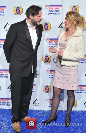 Julian Barratt and Julia Davis