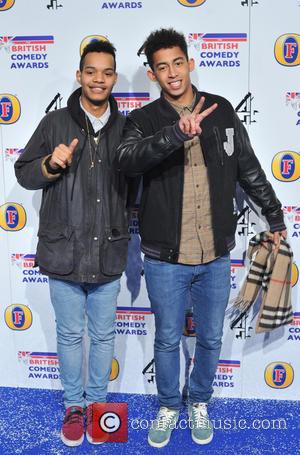Rizzle Kicks The British Comedy Awards 2012 held at the Fountain Studios - Arrivals.London, England - 12.12.12  Featuring: Rizzle...