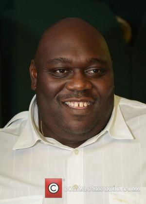 Faizon Love  backstage during 5th Annual Memorial Weekend Comedy Festival at the James L. Knight Center  Miami, Florida...
